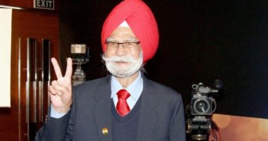 Hockey Legend Balbir Singh Sr Passe