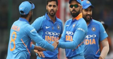 Three ODIs to be played