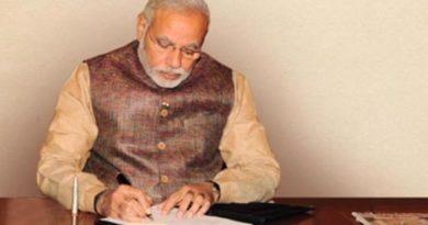 Modi writes a letter to citizens