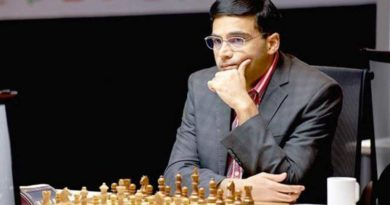 Viswanathan Anand arriving today after being stuck in Germany for more than 3 months, Anand was in Germany to play in the Bundesliga chess class.