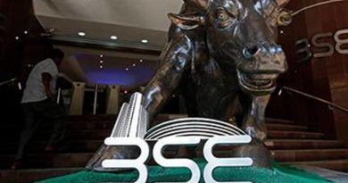 Sensex falls more than 1,100 pts