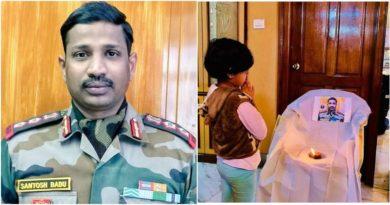 Colonel Santosh Babu martyred