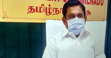 K Palaniswami announces