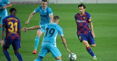 Barcelona versus Leganes: Messi scores penalty as Barcelona beat Leganes