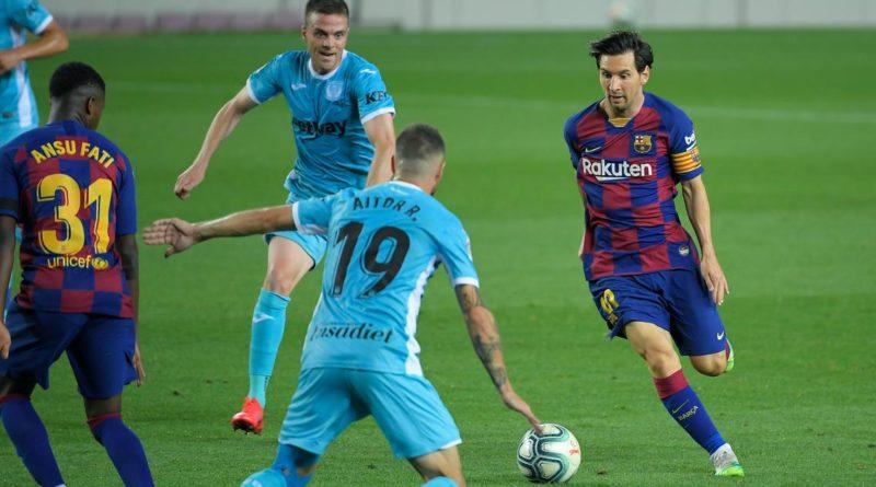 Barcelona versus Leganes: Messi scores penalty as Barcelona beat Leganes