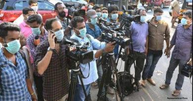 Telangana: 23 Journalists covering State Secretaria