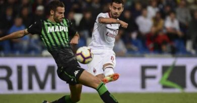 Sassuolo versus