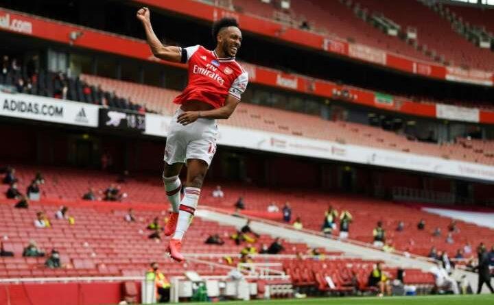 Pierre-Emerick Aubameyang nets 50th Premier League g
