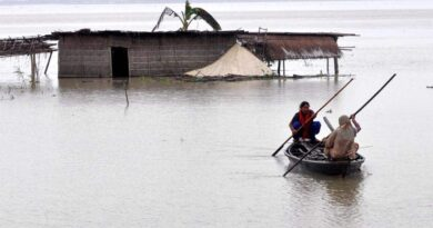 Flood in Assam hits