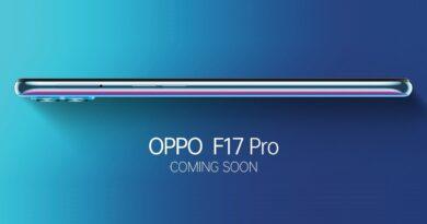 Oppo F17 Pro smartphone