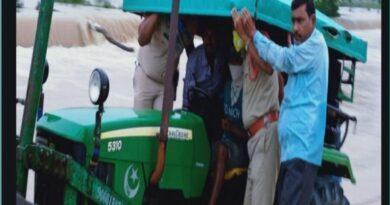 Heavy rains in Telangana