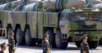 China builds missile