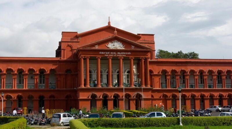 Karnataka High Court said
