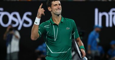 Novak Djokovic surpassed