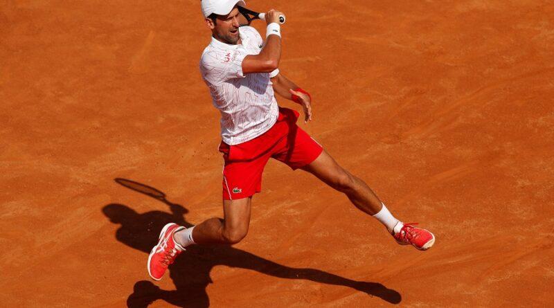 Novak Djokovic started