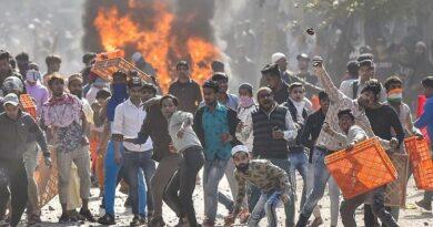 Riots in Delhi were