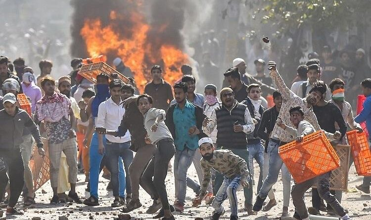 Riots in Delhi were
