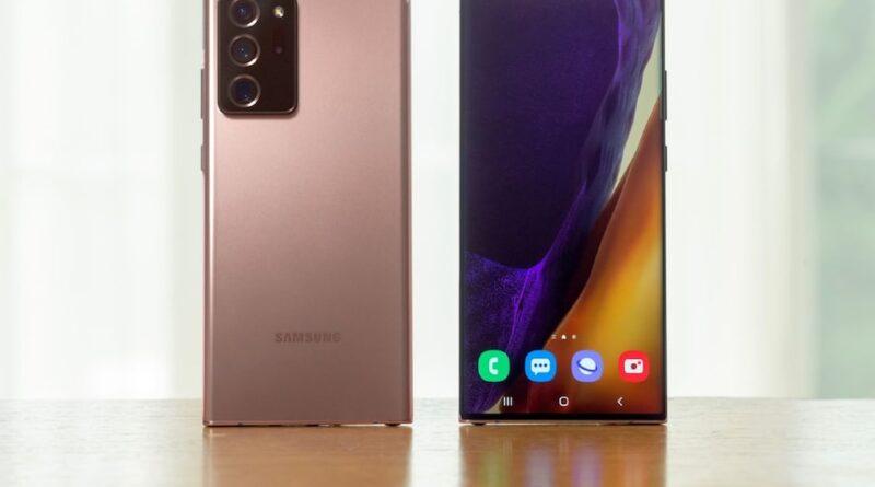 Samsung's new smartphone