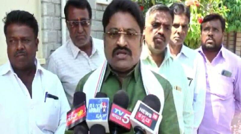 Congress MLA Narayanaswamy