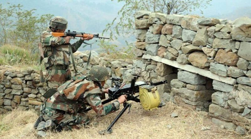 Pakistan shells fired