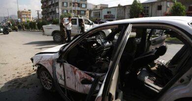 Car blast in Afghanistan