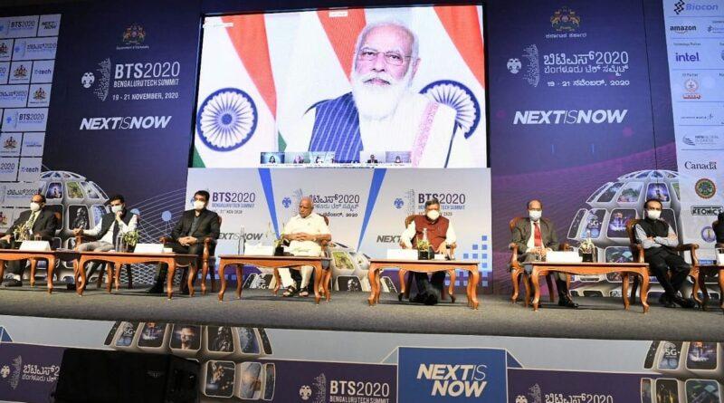 PM Modi inaugurates Bengaluru