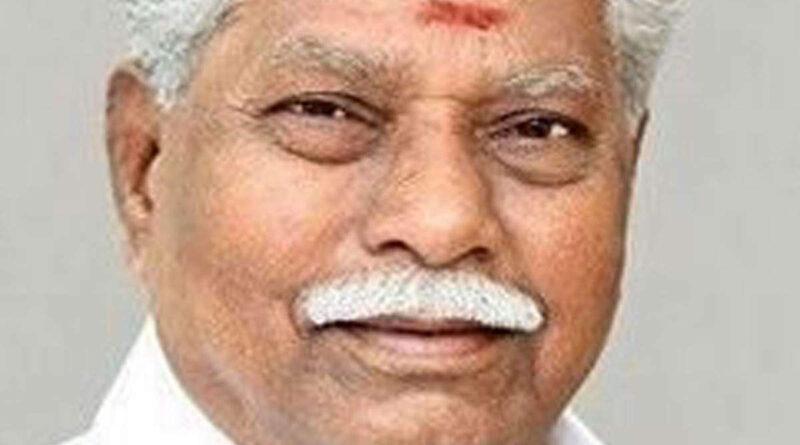 Tamil Nadu Agriculture Minister