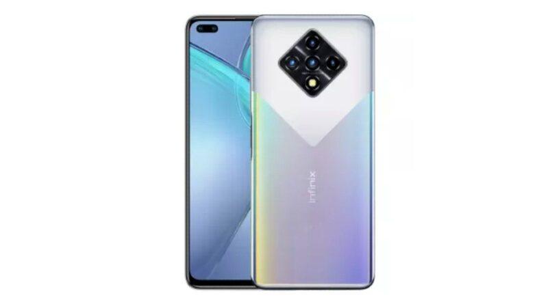Infinix Zero 8i smartphone
