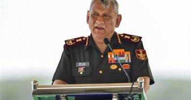 CDS General Bipin Rawat visited
