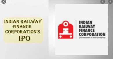 IRFC shares listed