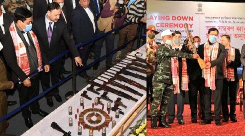 Assam: 1040 militants