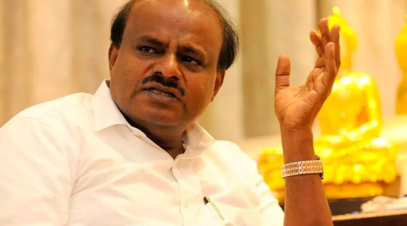 HD Kumaraswamy: