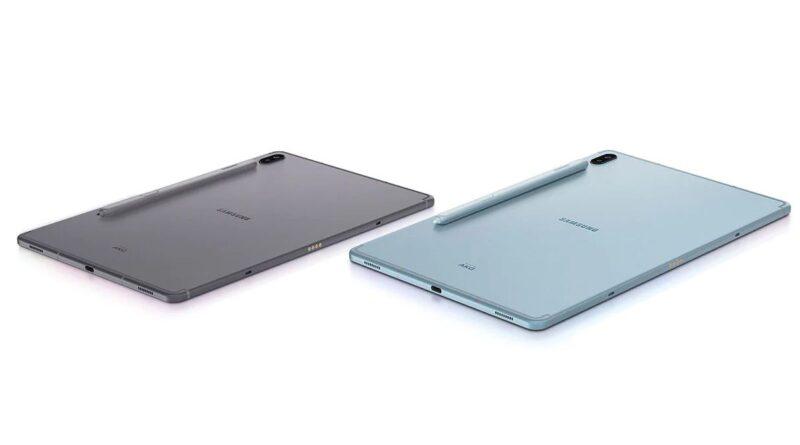 Samsung Galaxy Tab S7 and