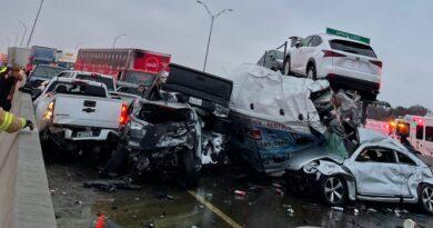 Horrific road accident