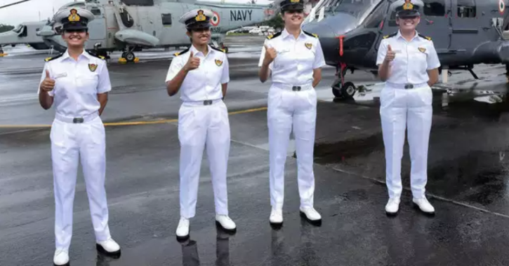 Navy deployed women officers