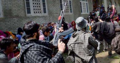 High Alert in Kashmir: