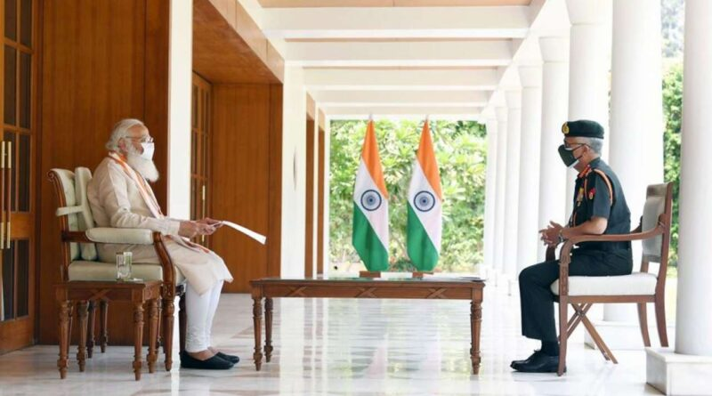 Army Chief met PM Modi