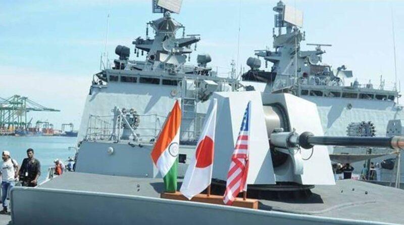Quad naval exercise