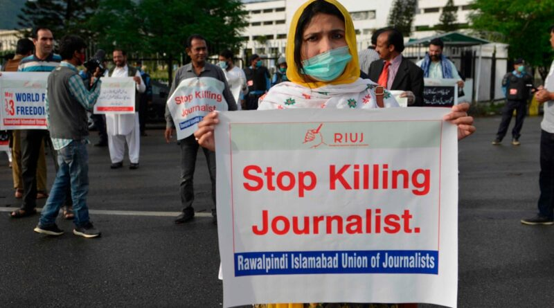 Attack on journalists in Pakistan