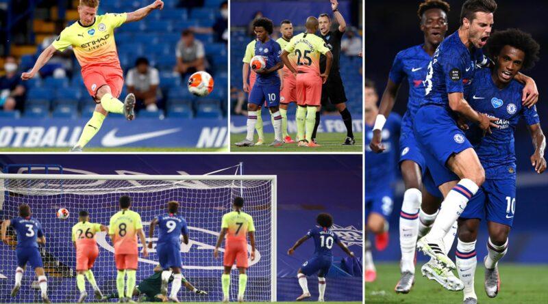 Chelsea beat Manchester City