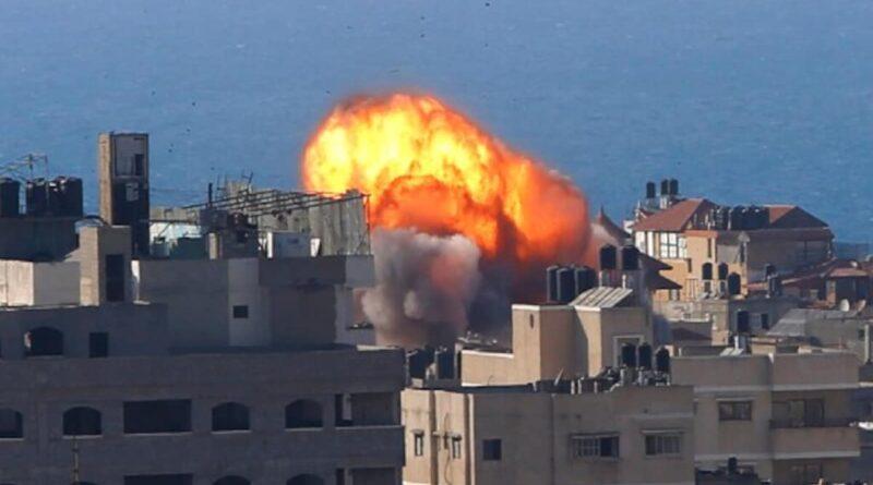 Israel attacked the Hamas
