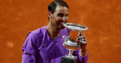 Rafael Nadal now eyes