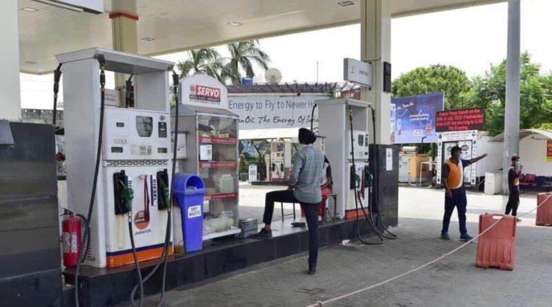 Prices of Petrol and diesel: