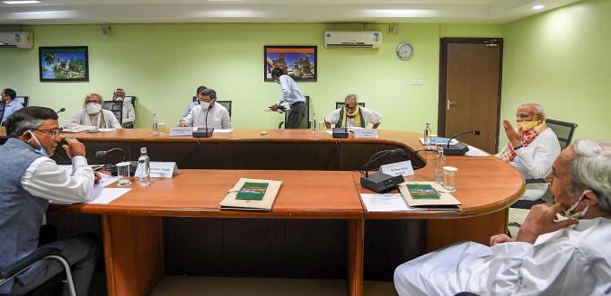 PM Modi's meeting with Odisha