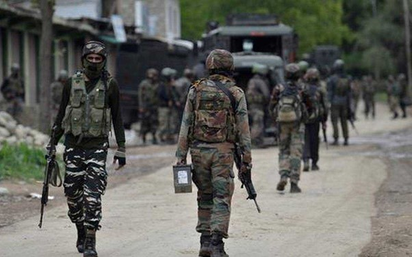 Encounter between security forces