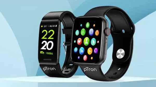 pTron's Pulsefit smartwatch