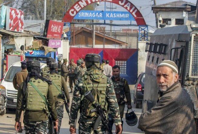 Terrorists attack police team