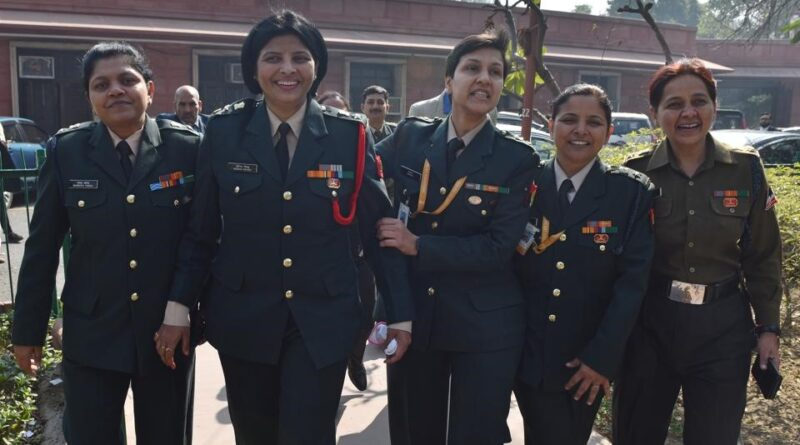 Indian Army promoted 5 women