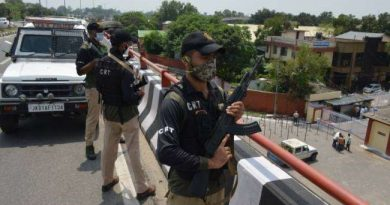 Security beefed up in Jammu city