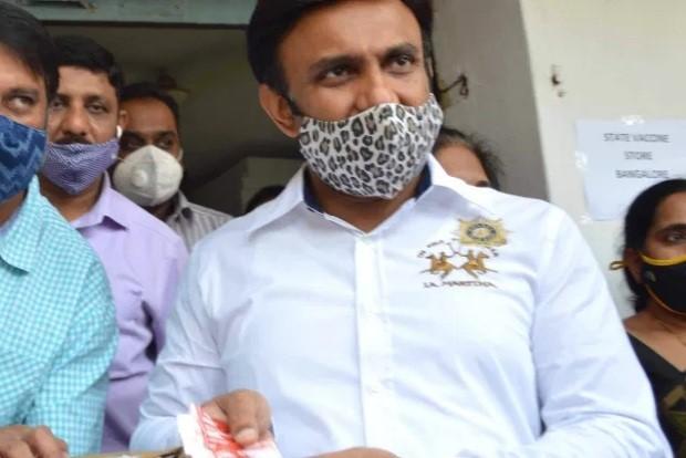 Karnataka Health Minister Sudhakar